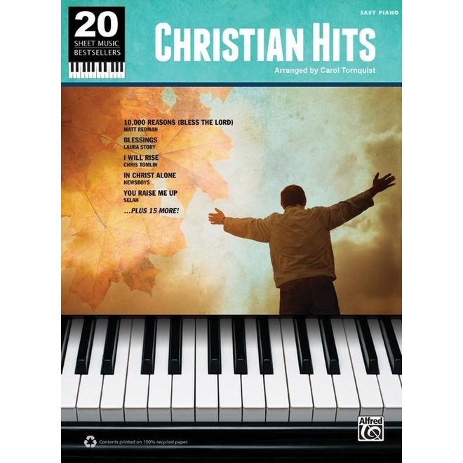 Alfred's - 20 Sheet Music Bestsellers, Christian Hits, Easy Piano