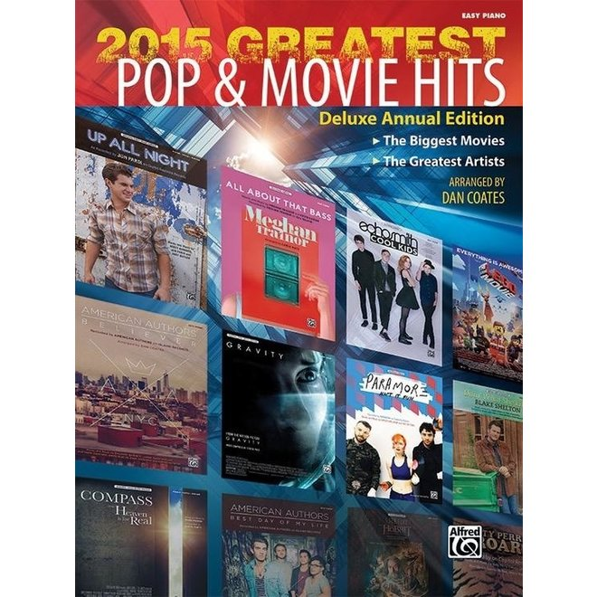 Alfred's - 2015 Greatest Pop & Movie Hits, Easy Piano