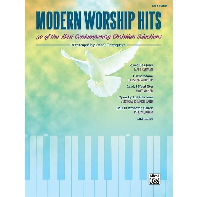 Alfred's - 30 Of The Best Contemporary Christian Selections, Easy Piano