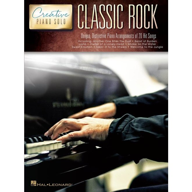 Hal Leonard - Creative Piano Solos, Classic Rock