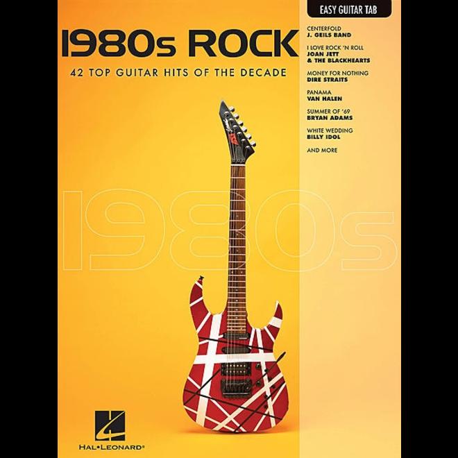 Hal Leonard - 1980's Rock, Easy Guitar Tab