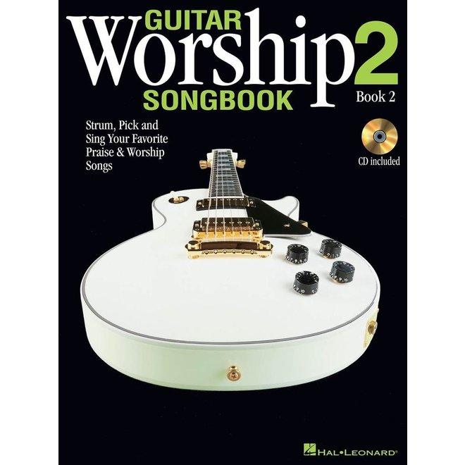 Hal Leonard - Guitar Worship Songbook, Book 2 w/CD