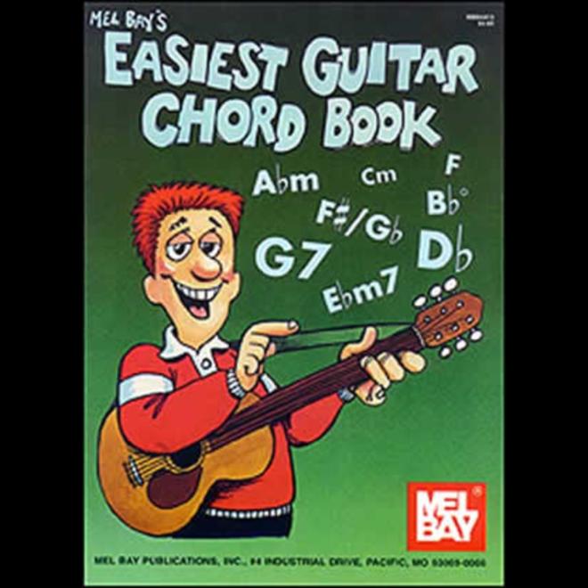Mel Bay - Easiest Guitar Chord Book