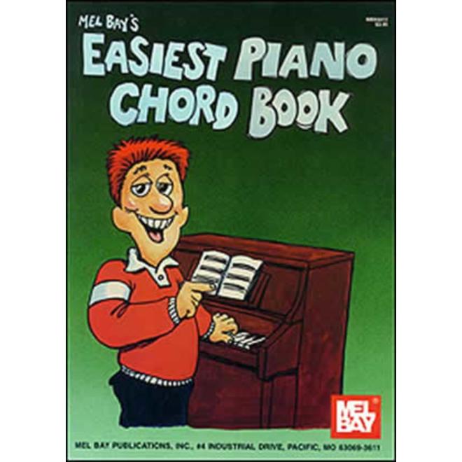 Mel Bay - Easiest Piano Chord Book
