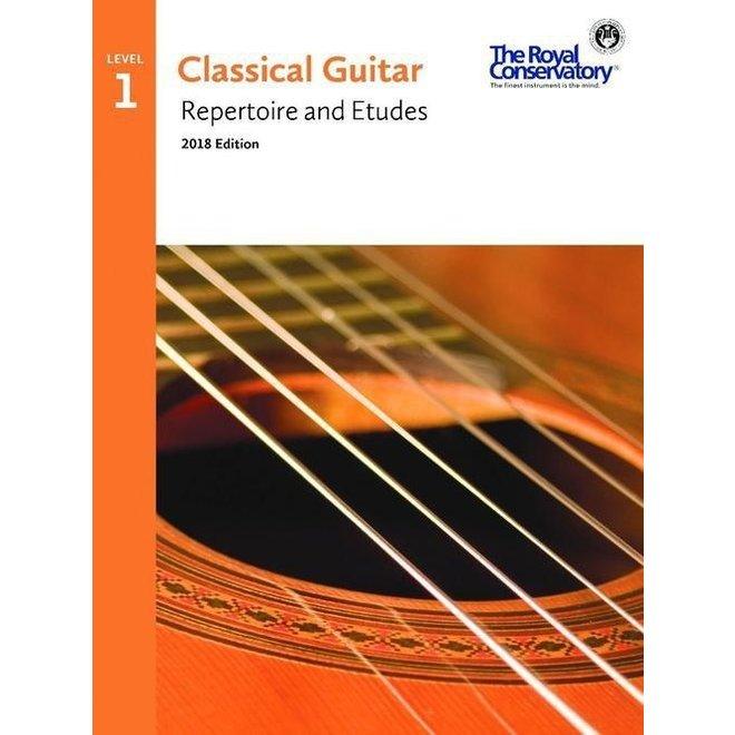 RCM - Classical Guitar Series, Repertoire and Etudes 1