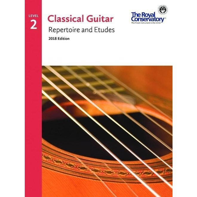 RCM - Classical Guitar Series, Repertoire and Etudes 2