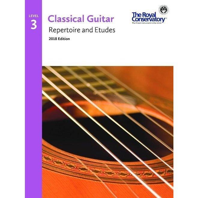 RCM - Classical Guitar Series, Repertoire and Etudes 3