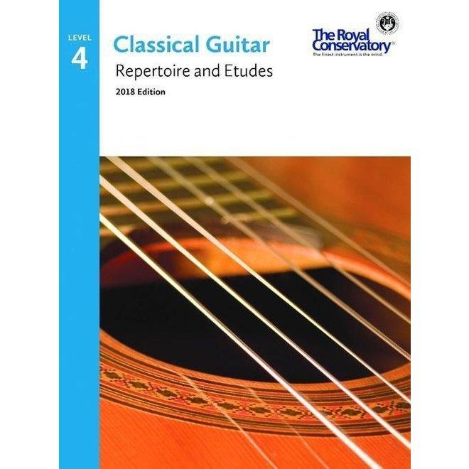 RCM - Classical Guitar Series, Repertoire and Etudes 4