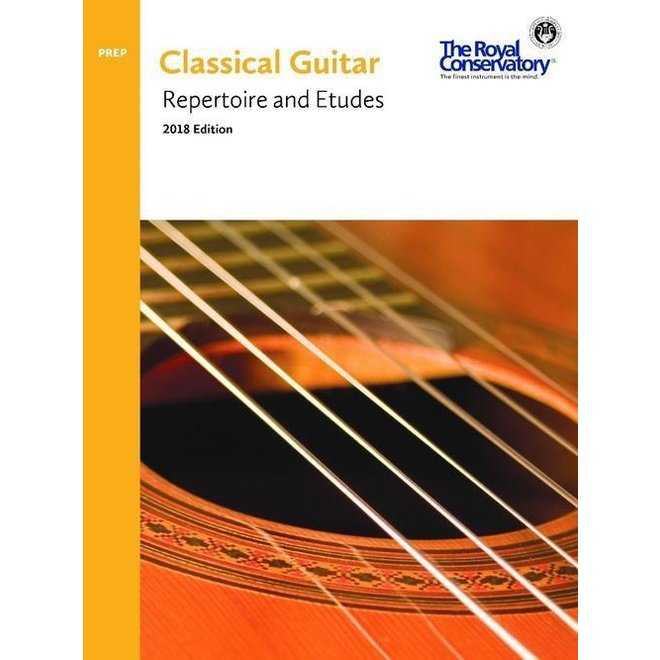 RCM - Classical Guitar Series, Repertoire and Etudes, Preparatory