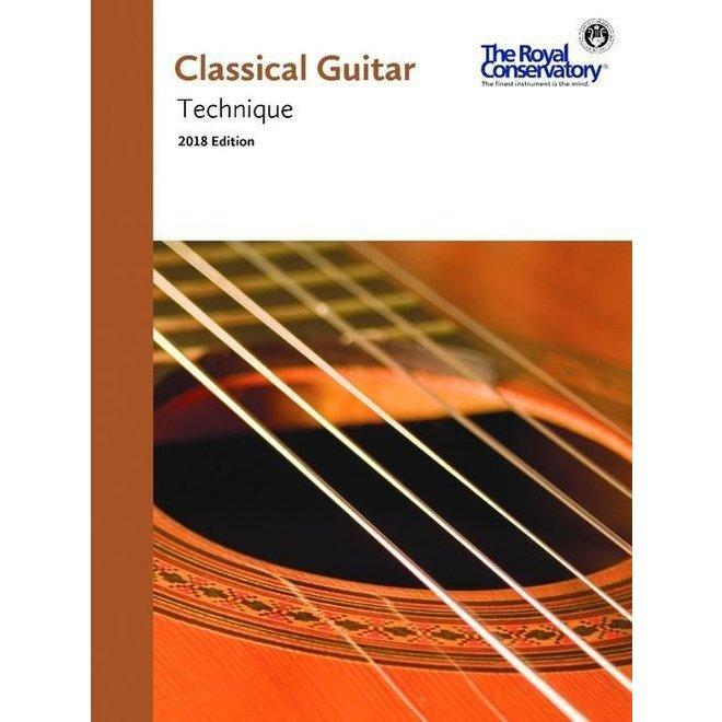 RCM - Classical Guitar Series, Technique