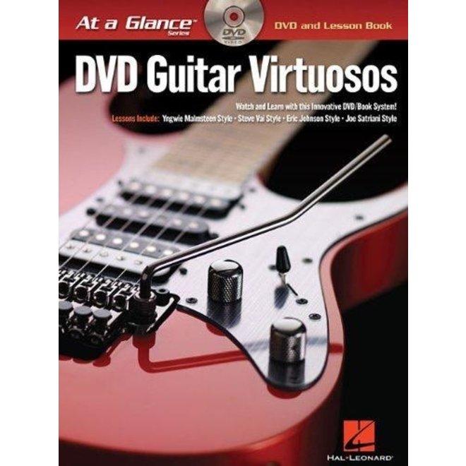Hal Leonard - At a Glance Guitar Series, Book/DVD Pack, Guitar Virtuosos