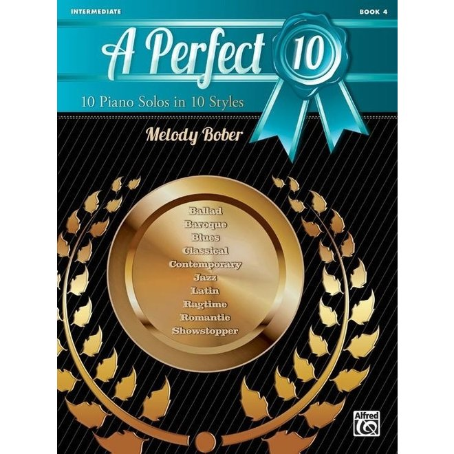 Alfred's - A Perfect 10, Book 4, by Melody Bober