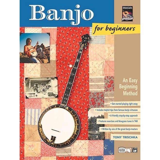 Alfred's - Banjo for Beginners, Book
