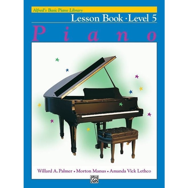 Alfred's - Basic Piano Course: Lesson Book 5
