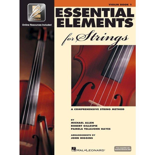Hal Leonard - Essential Elements 2000 for Strings, Level 1 Violin w/CD&DVD