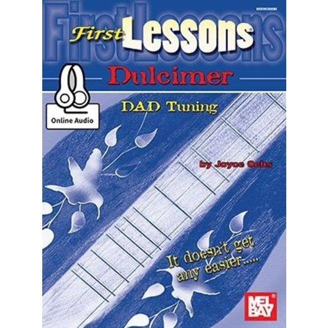 Mel Bay - First Lessons Dulcimer (incl/CD)