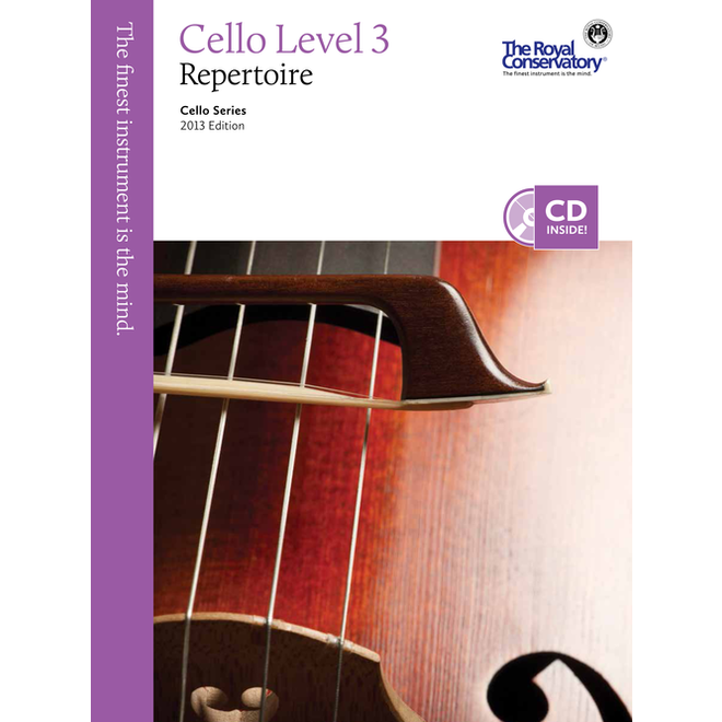 RCM - Cello Series, Cello Repertoire 3