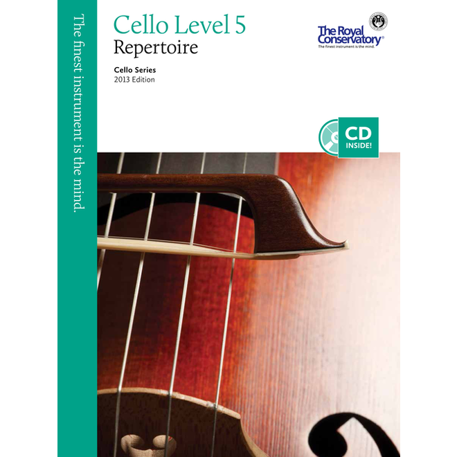 RCM - Cello Series, Cello Repertoire 5