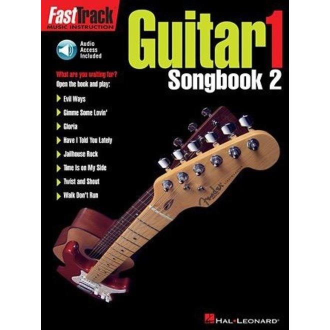 Hal Leonard - Fast Track: Guitar 1, Songbook 2, w/CD