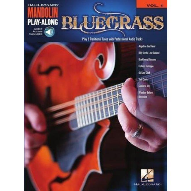 Hal Leonard - Blugrass, Mandolin Play-Along, w/CD