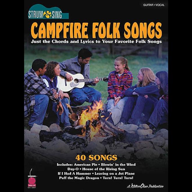 Hal Leonard - Campfire Folk Songs, Strum & Sing