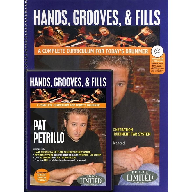 Hal Leonard - Hands, Grooves, and Fills