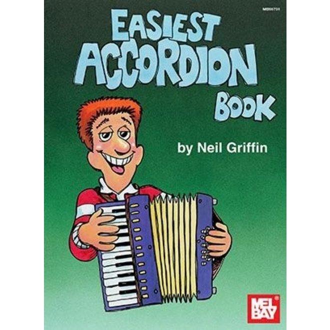 Mel Bay's - Easiest Accordion Book