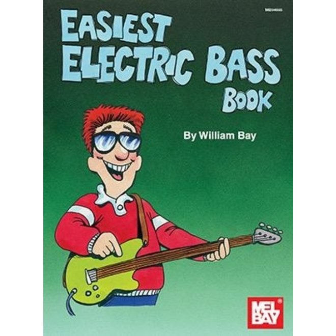 Mel Bay - Easiest Electric Bass Book