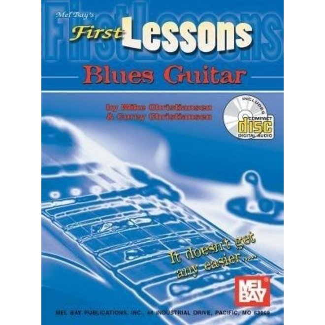 Mel Bay - First Lessons, Blues Guitar (incl/DVD)