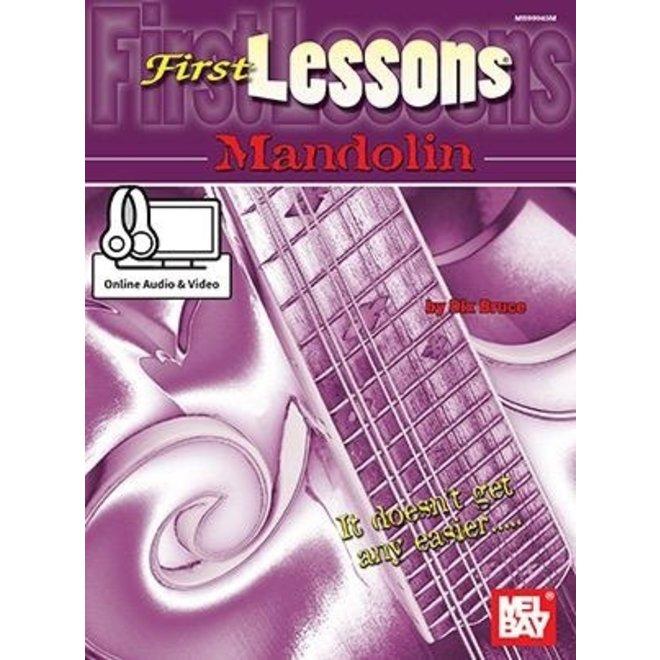 Mel Bay - First Lessons, Mandolin (incl/DVD)