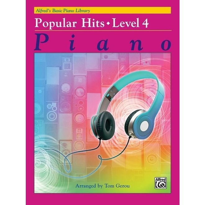 Alfred's - Basic Piano Course: Popular Hits 4