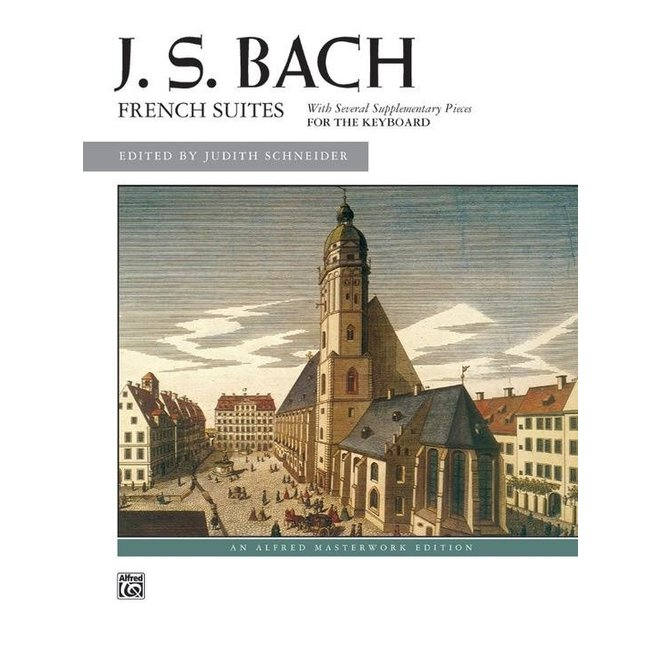 Alfred's - Bach, French Suites (Intermediate/Advanced)