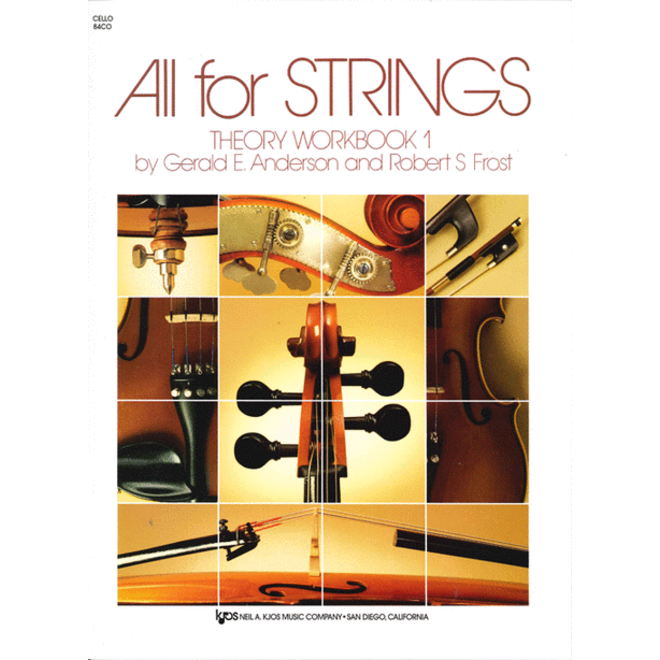 All For Strings - Theory Workbook 1, Cello