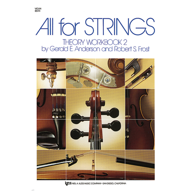All For Strings - Theory Workbook 2