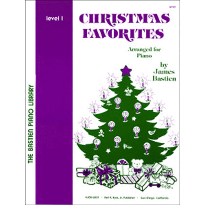 Bastien - Christmas Favorites for Piano, Level 1