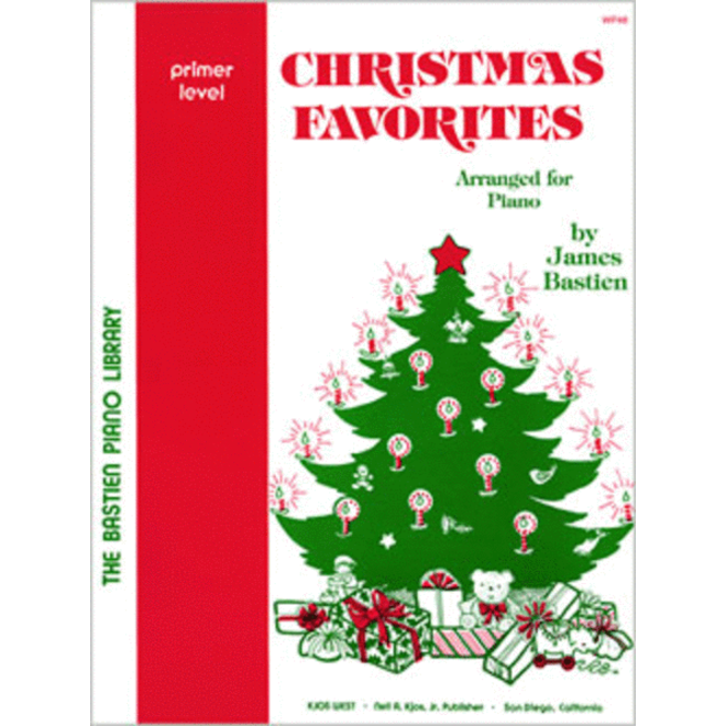 Bastien - Christmas Favorites for Piano, Primer Level