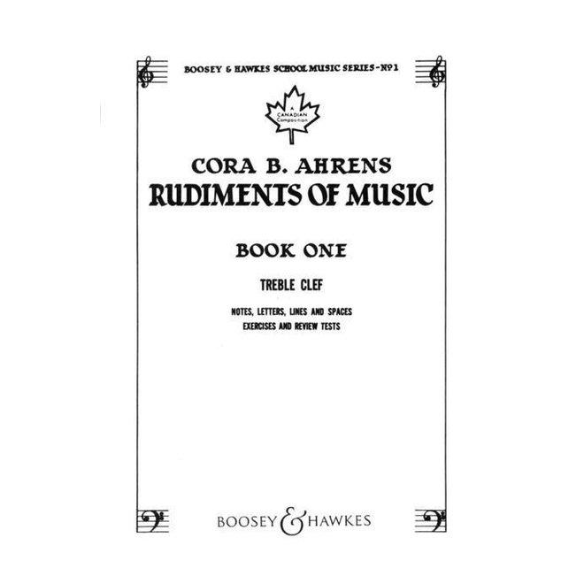 Cora B. Ahrens - Rudiments of Music, Book 1