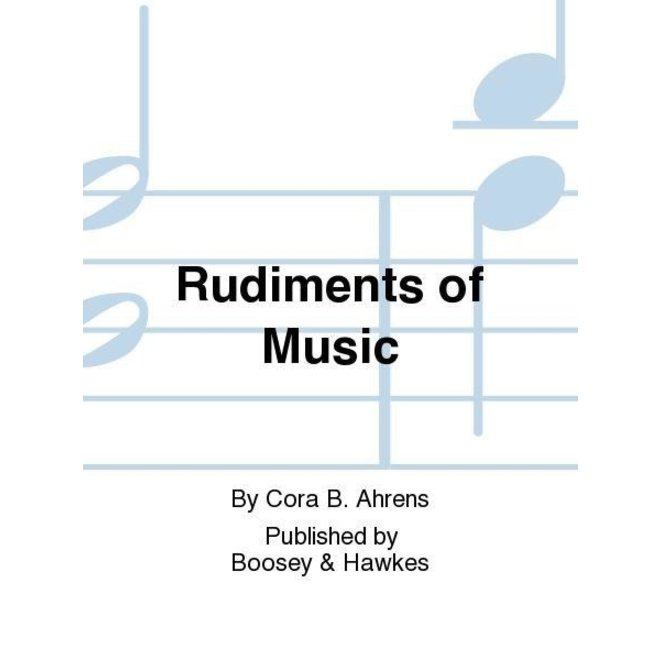 Cora B. Ahrens - Rudiments of Music, Book 5