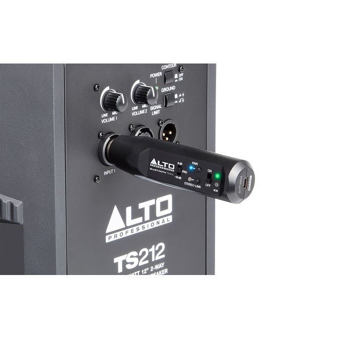 Alto - XLR-Equipped Rechargeable Bluetooth Receiver
