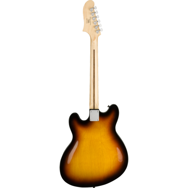 Fender - Squier Affinity Series Starcaster, Maple Fingerboard, 3-Color Sunburst