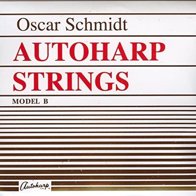 Oscar Schmidt - Ball End Autoharp  36 String Set