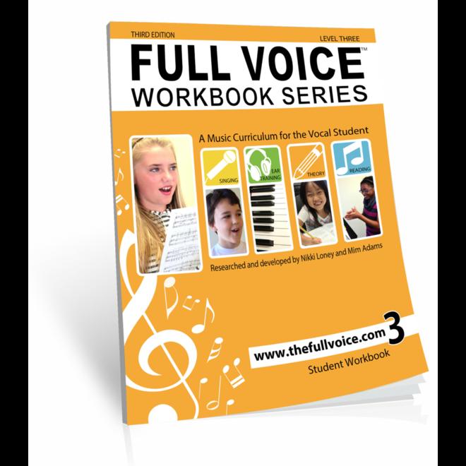 Full Voice Workbook Level 3