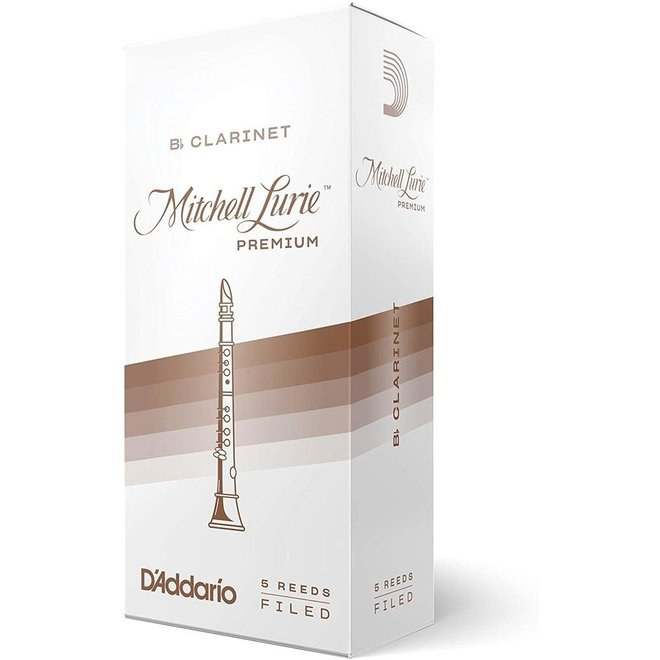 Mitchell Lurie - 5 Pack of Bb Clarinet Reeds, 2.5