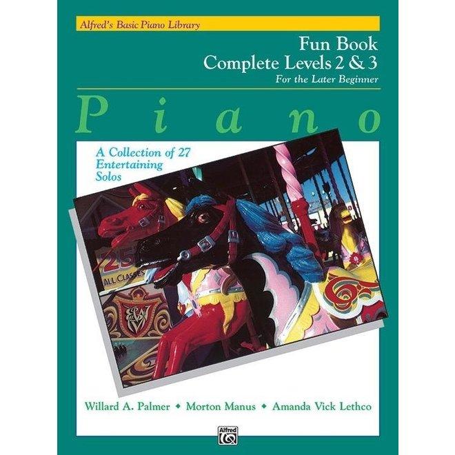 Alfred's - Basic Piano Course: Fun Book Complete (2 & 3)