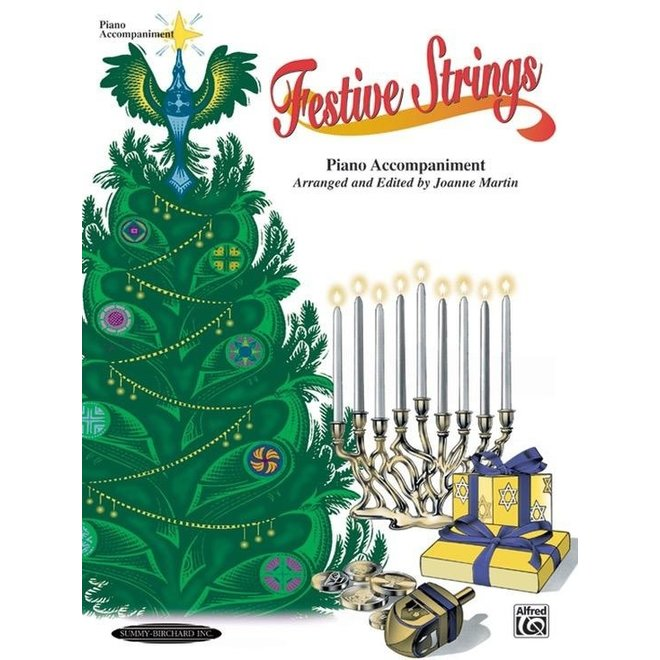 Festive Strings, Piano Accompaniment