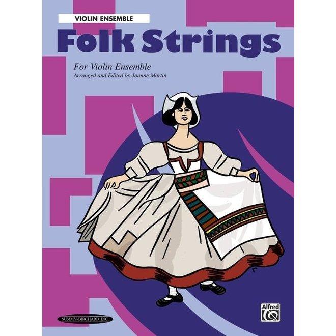 Folk Strings for Violin Ensemble