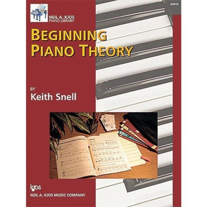 Neil A. Kjos - Beginning Piano Theory