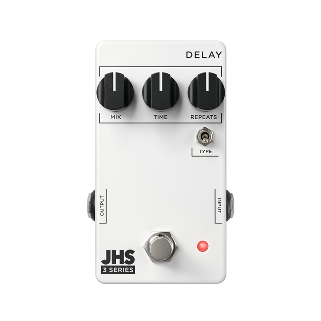 JHS - 3 Series Delay Pedal