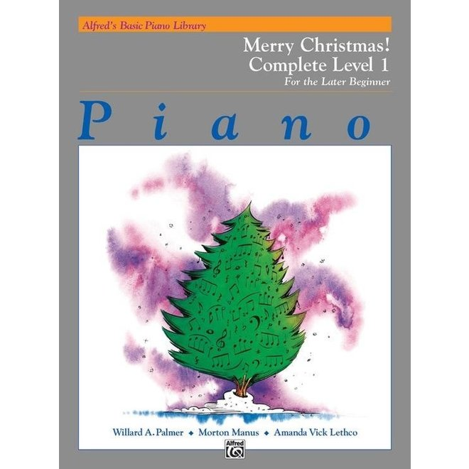 Alfred's - Basic Piano Course: Merry Christmas Book Complete 1 (1A/1B)