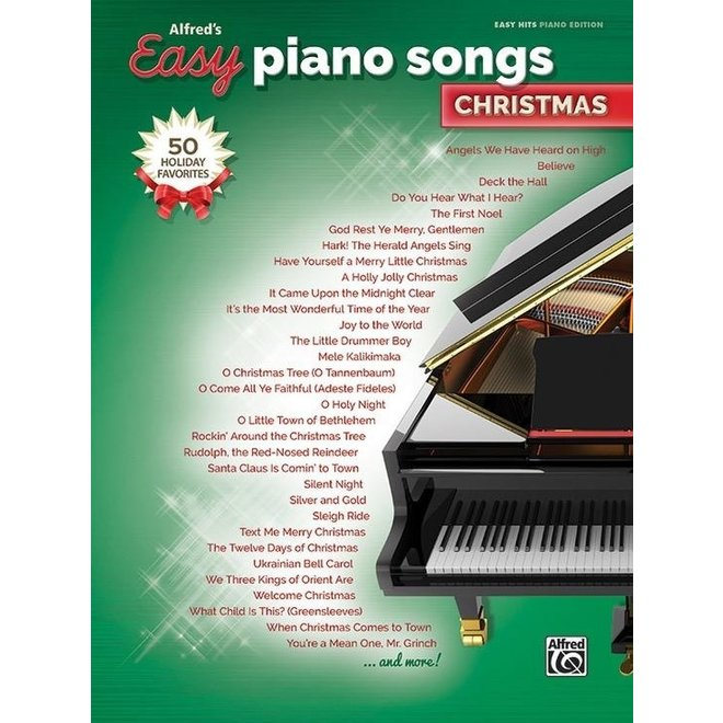 Alfred's - Easy Piano Songs, Christmas
